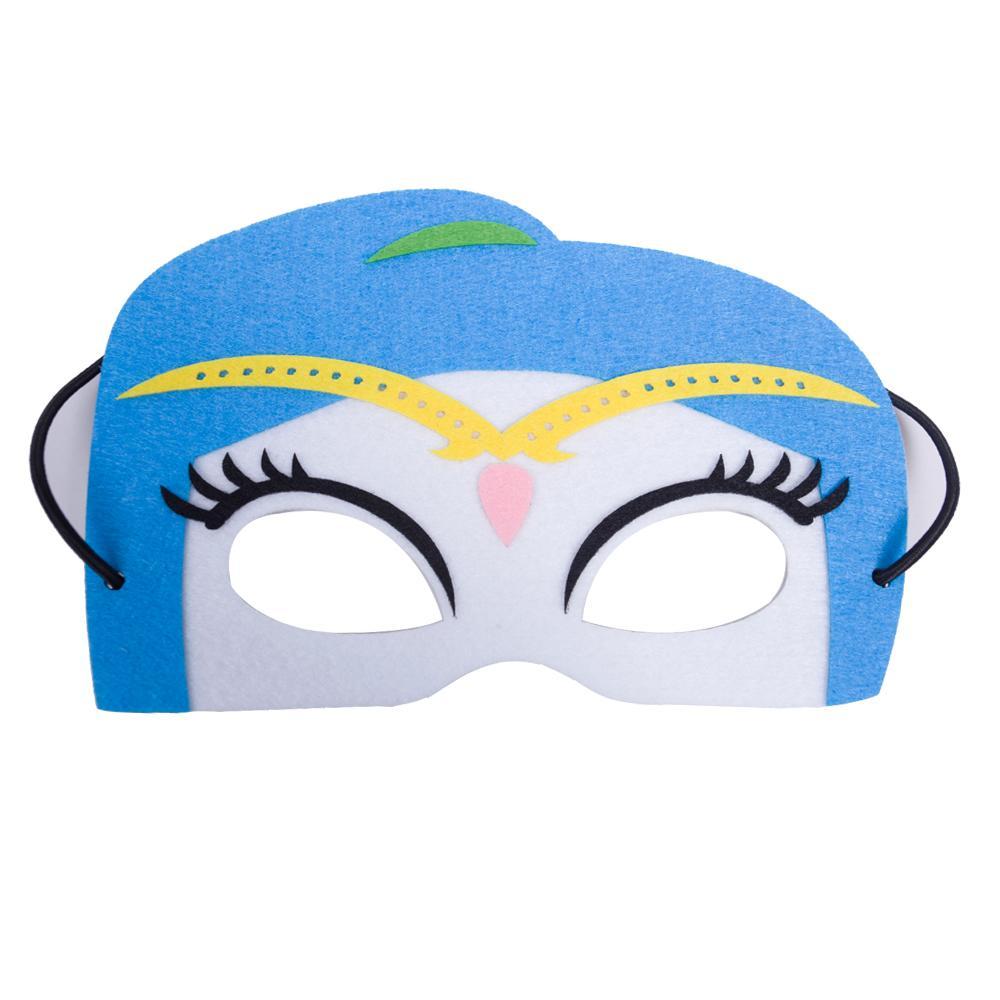 11 stil keçe süper kahraman maske için çocuk masquerade parti maskesi çocuk karikatür göz maskesi göz gölge Cadılar Bayramı Noel doğum günü partisi hediyeler