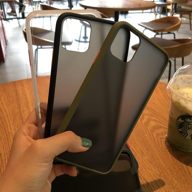 B33 غطاء السيليكون يعود لiphone11Pro قضية حماية الهاتف المحمول