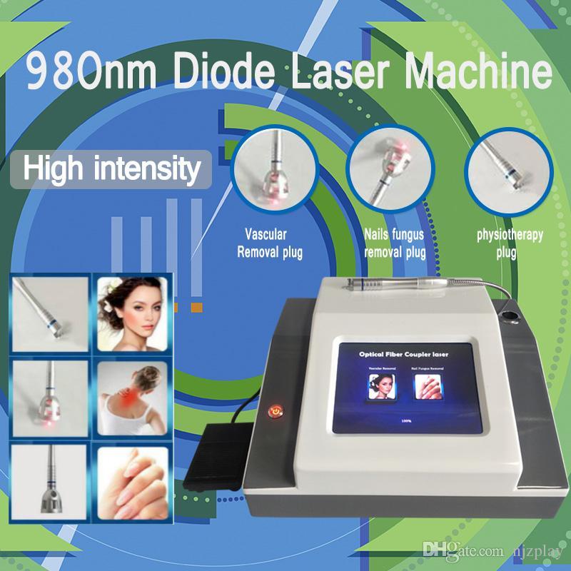 980nm диодный лазер постоянное удаление сосудов машина 980 лазерных диодов Лечение вен спайдерных вен лазер 2018 новейшее оборудование