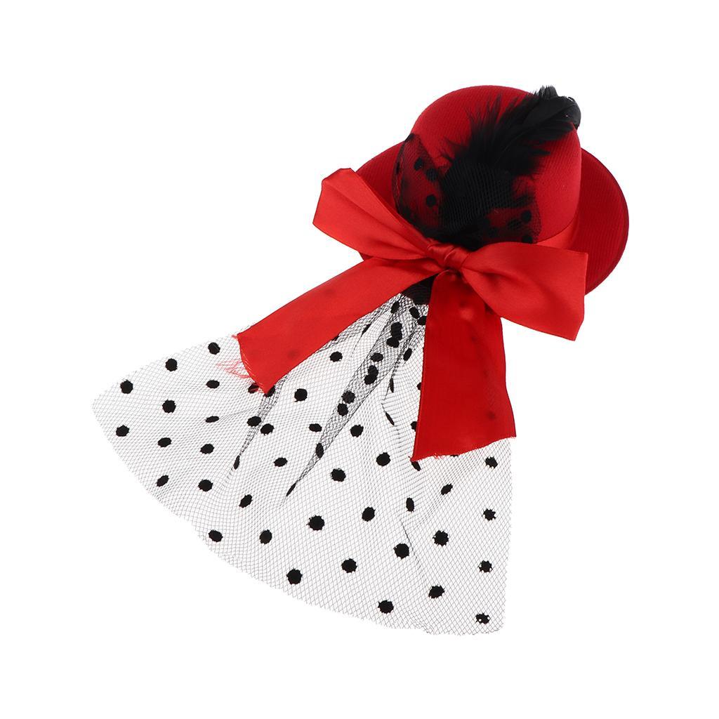 Винтажная кукла ручной работы круглый котелок с бантом для 1/3 BJD девушка кукла аксессуар детские игрушки