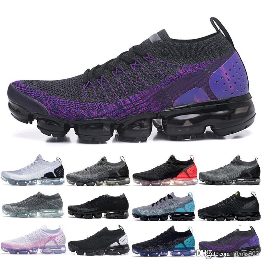 2019 Fly 2.0 chaussures de course noir multi couleur des femmes des hommes CNY Safari baskets bleu concepteur coureur minuit violet ultramarine 6Z3G-YN
