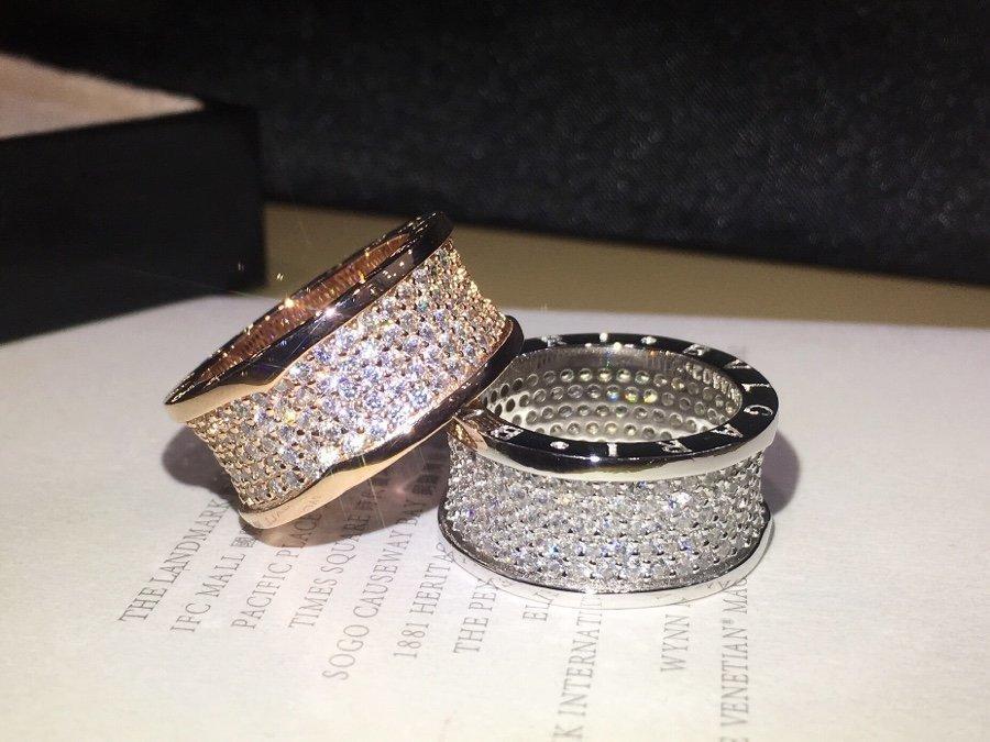 2020 جودة عالية هدية خاتم أزياء السيدات عصابة طرف أفضل المجوهرات بريق رائع أنيق أسلوب بسيط T9PP