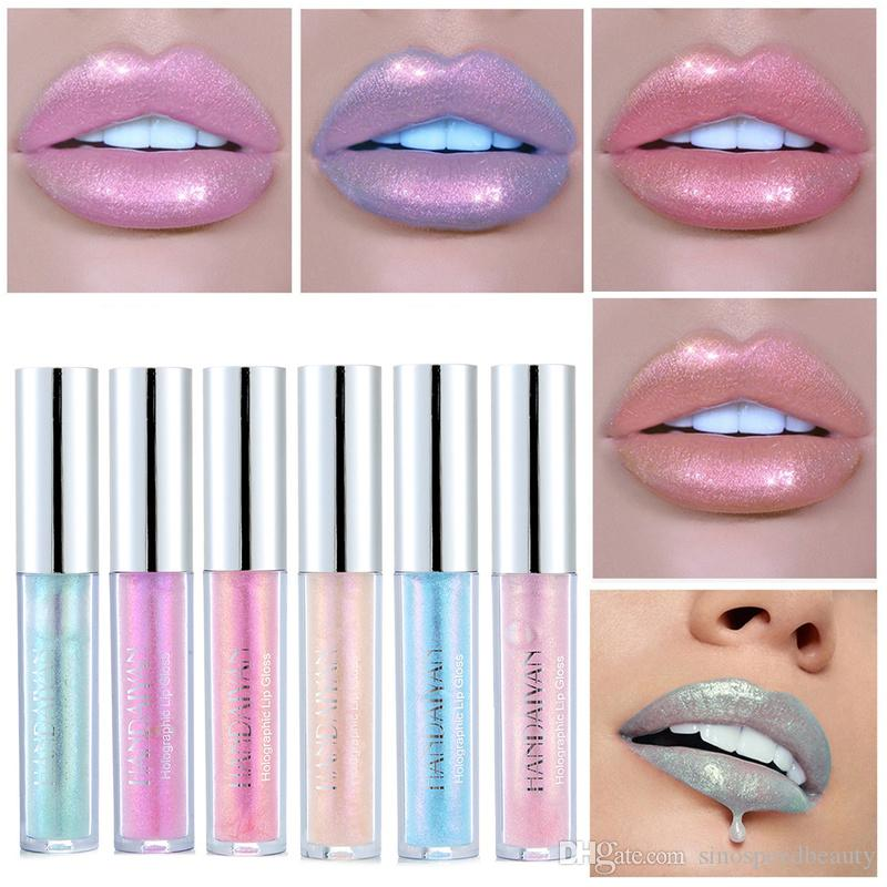 HANDAIYAN Makeup Shiny Lip Gloss Long Lasting Shimmer Lip Tint Waterproof Moisturizer Liquid Lipstick Cosmetics Free Shipping L2601