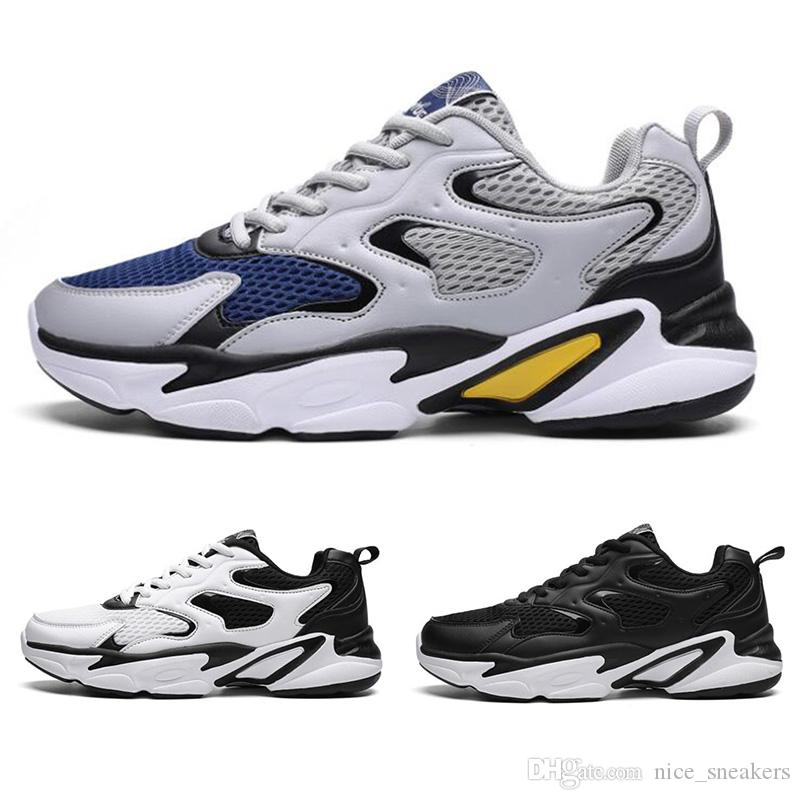 Herren Laufschuhe Herren Triple Black Outdoor-Schuhe Dark Navy Multi Mesh-Sport-Turnschuhe Outdoor-Schuh-freies Verschiffen