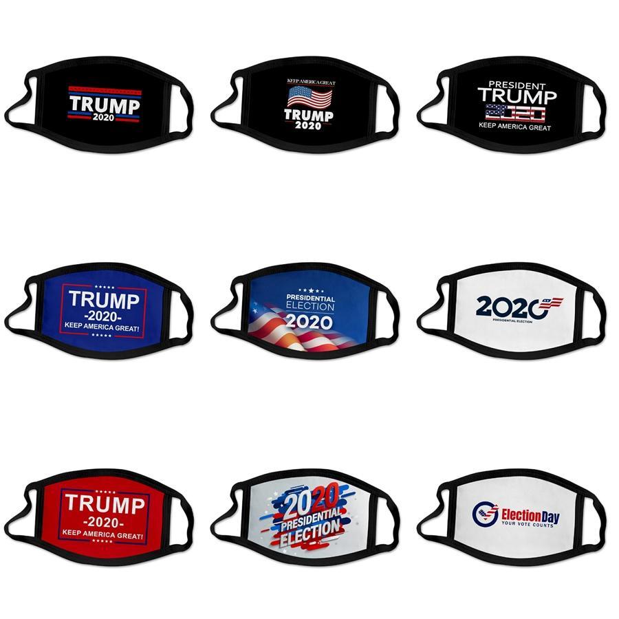 30 * 13cm 1 1pcs Bag Auf Lager Black Designer Trump Maske Erwachsener Gesicht er PM2.5-Antistaub-Mund-Masken atmungsaktiv Waschbar schützende Schablonen-Bo # 184