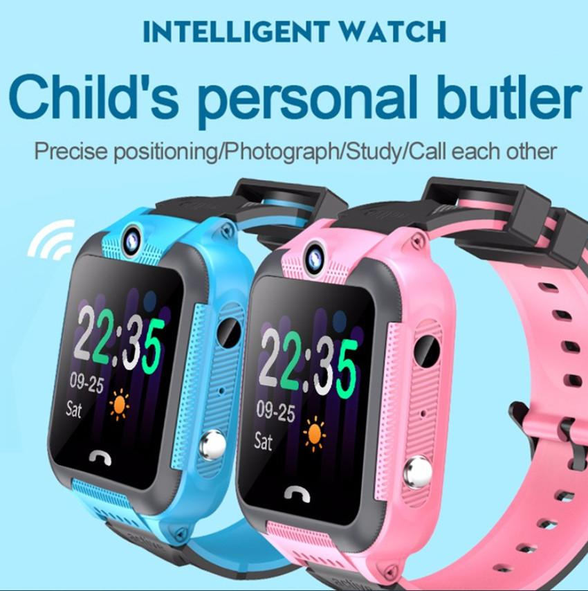 V10 Smart Watch Phone for Children SOS Emergency Call LBS Base Station Positioning IP67 Waterproof Remote Monitor Smartwatch kid 2020 Newest