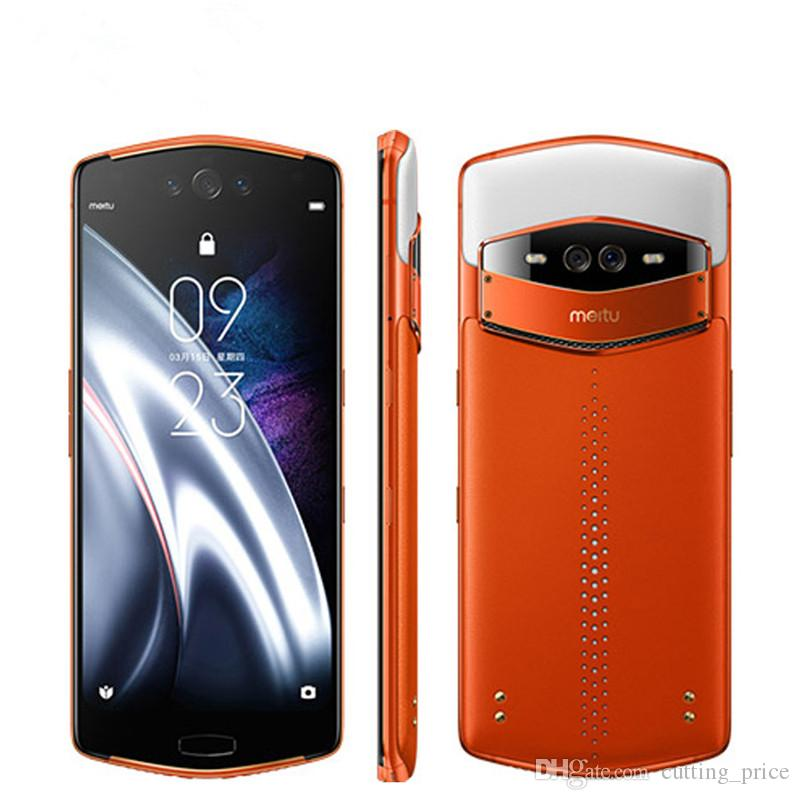 "Original Meitu V7 4G LTE Cell Phone 8GB RAM 128GB ROM Snapdragon 845 Octa Core Android 6.21"" 20MP 3450mAh Fingerprint ID Smart Mobile Phone"