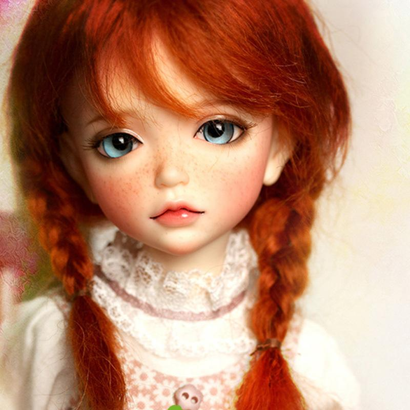 Free Face Make UP+Free Eyes 1//6 Bjd Doll SD Doll iple kid 1//6 lonnie Girl
