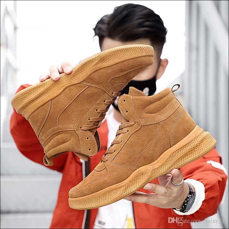 Mens Caminhadas Botas Homens Ao Ar Livre Confortável Martin Boots Chaussure Masculino Moda Militar Boot Homens Sapatos de Inverno Calçado