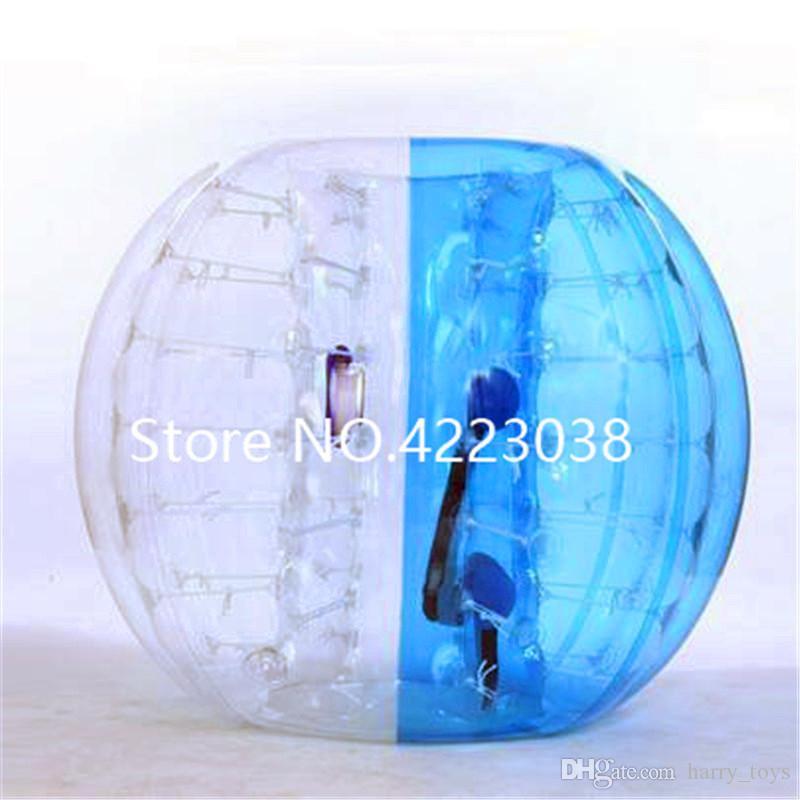 Frete grátis 1,5 m de futebol inflável bola borbulha Bumper Ball Zorbing corpo bolha bola de futebol Jogos exteriores para adultos