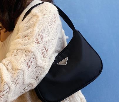 Designer pequeno saco Feminino de Moda de Nova Bolsa Simple Luxury Ombro Único Mensageiro Casual Saco selvagem