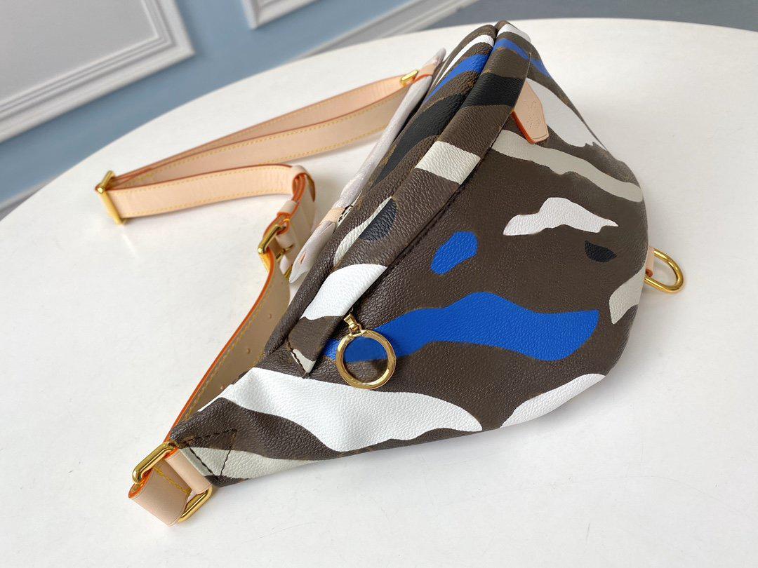 Sac à main de ceinture sac femmes luxe unisexe sac Camouflage cuir véritable ceinture réglable de haute qualité et polyvalent