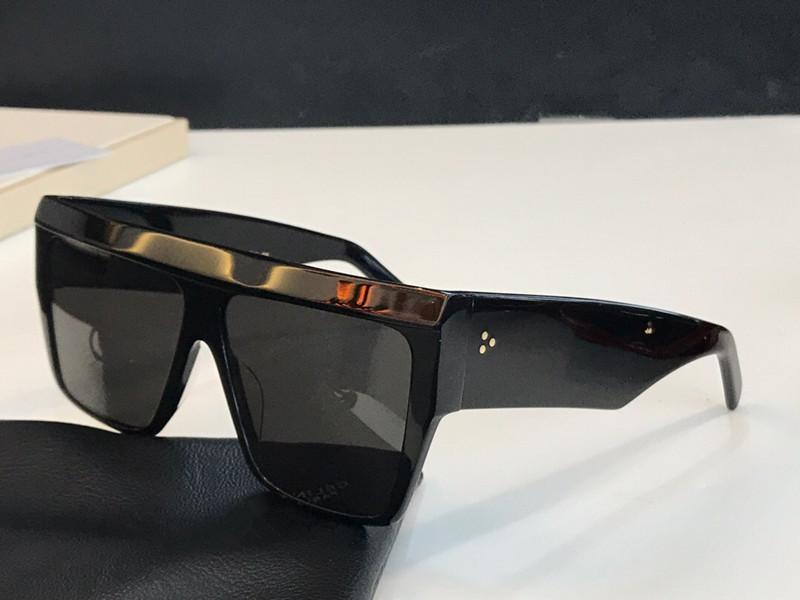 4S4092 óculos escuros de grife de moda para as mulheres grandes quadro quadrado óculos de sol novos atmosfera simples estilo selvagem lente proteção UV400 óculos