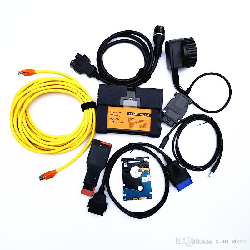 Самый Новый V2019.03 ISTA для BMW ICOM A2+B + C диагностический инструмент программирования полный кабель поддержка нескольких языков с DHL бесплатная доставка
