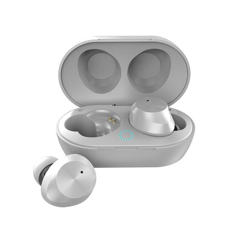 سماعات أذن لاسلكية Bluetooth 5.0 لاسلكية سماعات أذن سلكية مقاومة للعرق مع غطاء شحن للتحكم باللمس