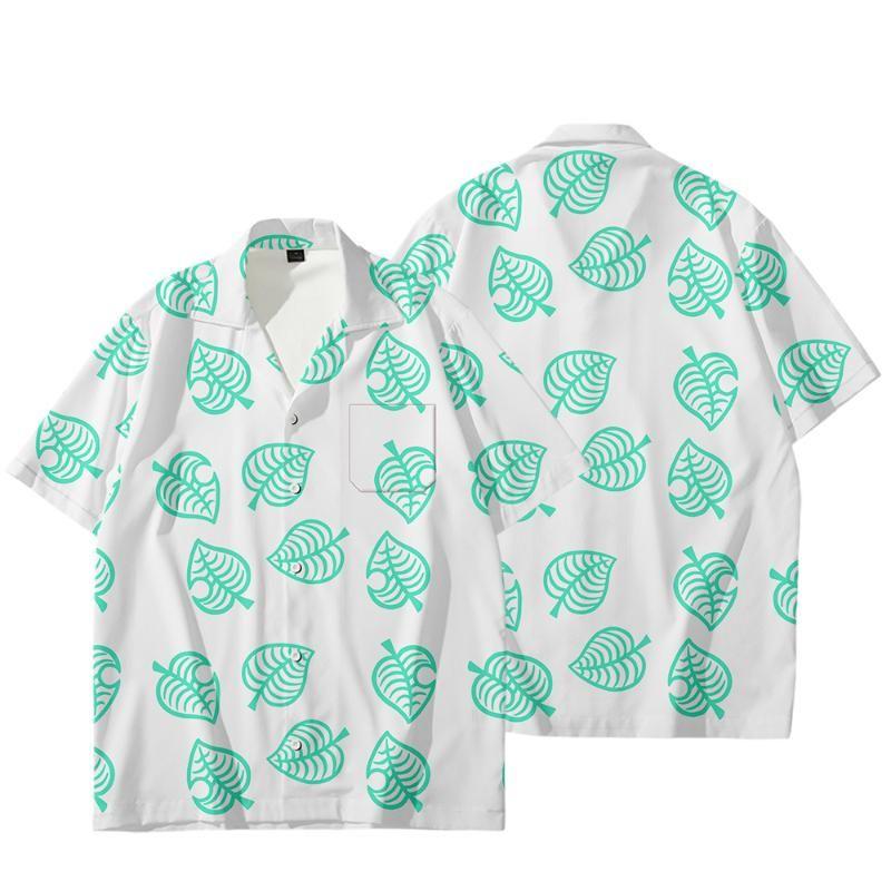 WAMNI 3D Animal Crossing shirt Cardigan Men Coat The Villager Cosplay costume Harajuku Casual open stitch Streetwear for women
