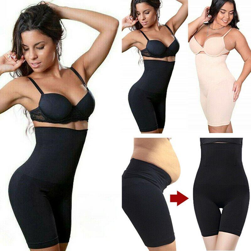 Women's Body Shaper Shapermint Control Slim Female Lady High Waist Shorts Pants Underwear Clothing