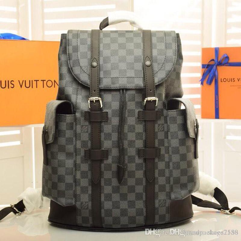 Mulheres e homens de grande capacidade de luxo bolsa tendência da moda limitada nova alta qualidade B7 mundial saco de viagem mala carteira N41379-5555