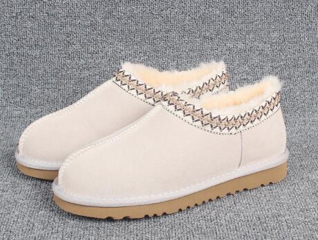 Sıcak Satış-Kadın Çizmeler Kadın Adam Klasik Kış Çizmeler Siyah Ayak Bileği Kar Botları Kış Terlik Ayakkabı Patlamalar Boyutu 35-43
