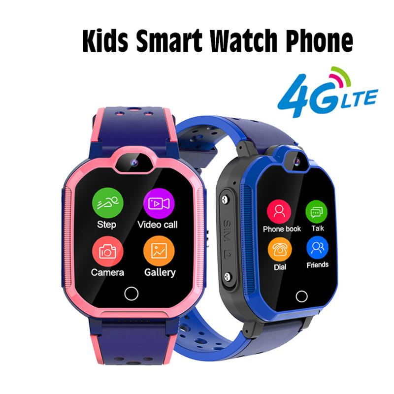 Bambini intelligente Watch Phone Phone Call Kid Blutooth intelligente orologio con impermeabile intelligente WatchSelling Wifi bambini dello schermo 4G Gps Tracker Touch