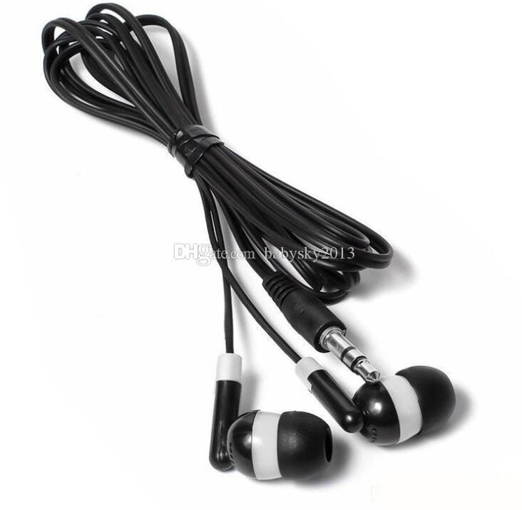 auriculares de caramelo para auriculares jack de 3,5 mm auriculares manos libres universales para Samsung iphone mp3 mp4 de la tableta androide del teléfono