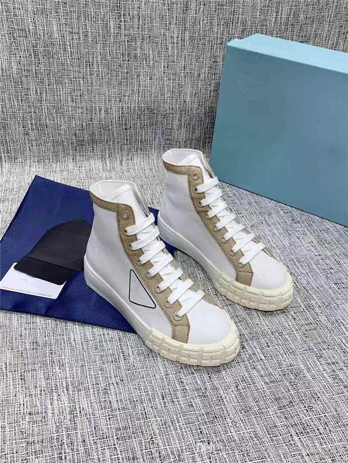 Women And Mens Canvas Ankle Boots In
