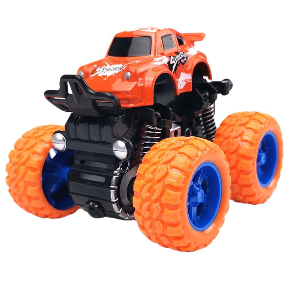 Autos fundidos y tire hacia atrás del camión escalador, grande grande de neumáticos de vehículos para los niños Niños-Fricción Juguetes de coches, favores de fiesta