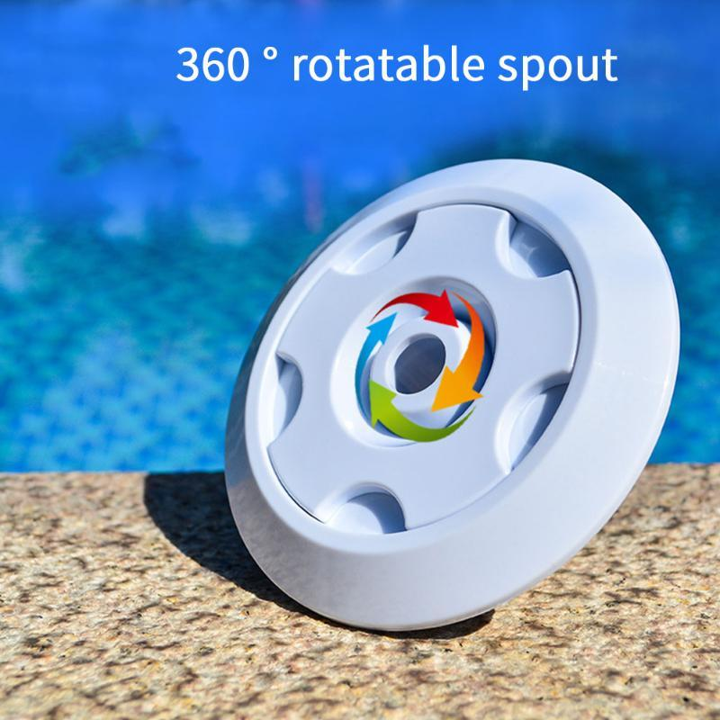 Easy Install Draining 360 Rotatable Replacement Parts ABS Fitting Durable Massage Nozzle Swimming Pool Spout Indoor Outdoor