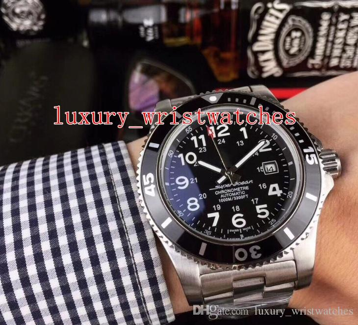 6 stil Moda SüperOcean Saatı A17365C9 / BD67 / 161A A17392D71B1A1 43mm Paslanmaz Çelik Otomatik mekanik Mens Watch Saatler