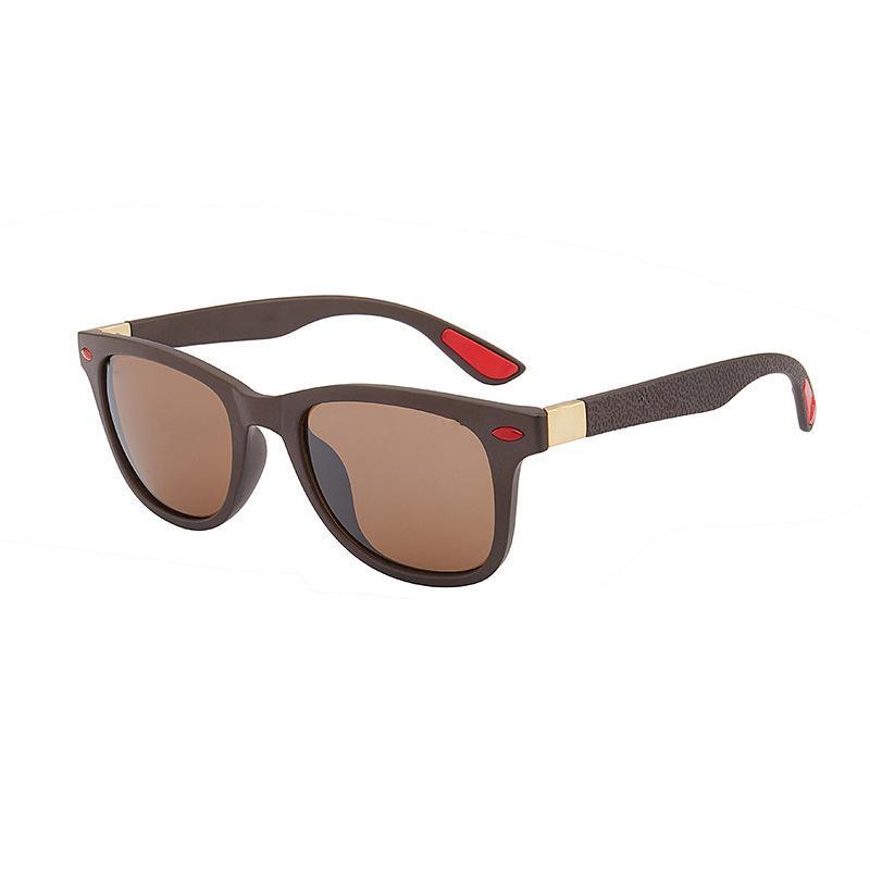 Высокое качество поляризованных стеклянных линз классические пилотные солнцезащитные очки мужчины женщины праздничная мода солнцезащитные очки с бесплатными чехлами и аксессуарами 41