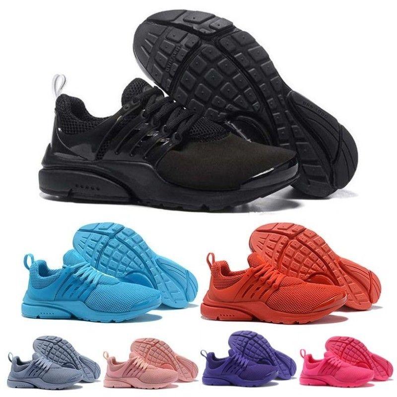 2019 Luxury Designer Chaussures de sport PRESTO 5 BR QS Breathe Rouge Jaune Noir Blanc Hommes Femmes Formateurs Hot Hommes Chaussures Chaussures de course Casual 36-45