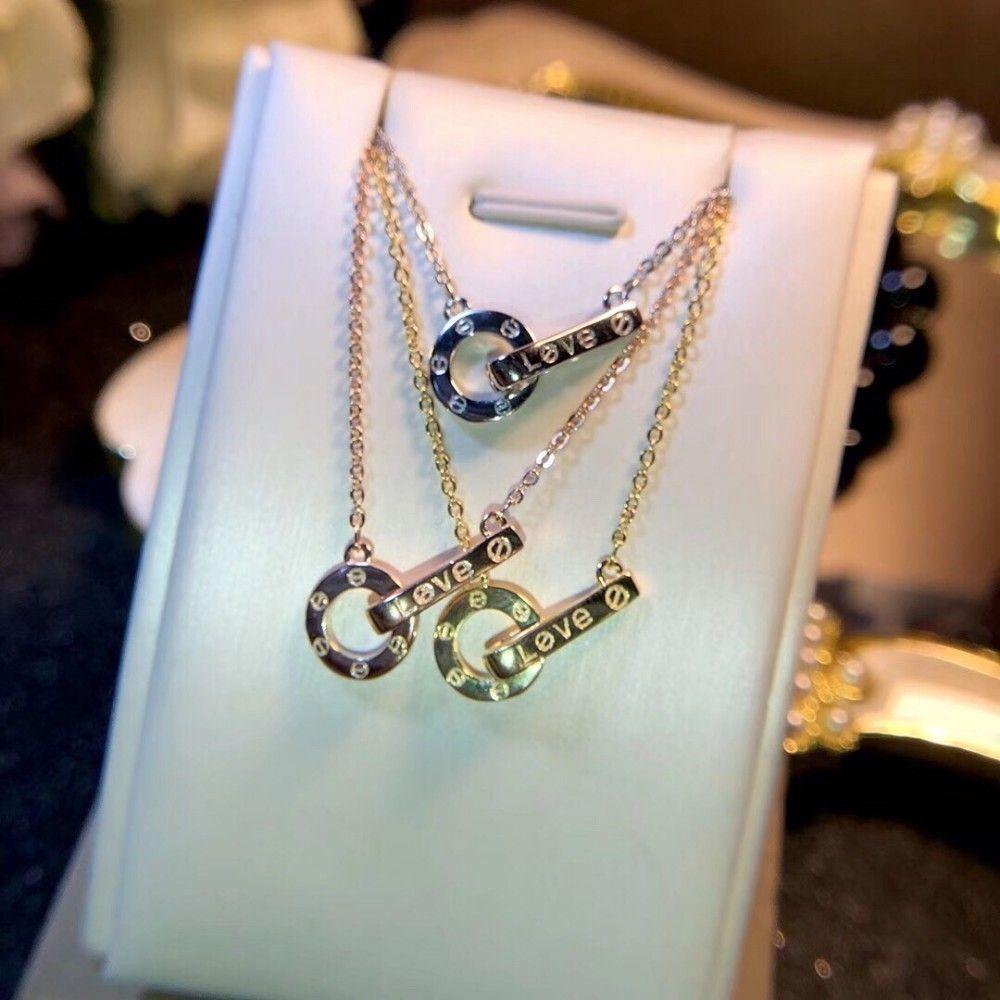 Женские ювелирные изделия 2019 мода новый простой классический ожерелье высокого класса exquisiteis