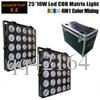 5x5 Matrix RGBW LED gemeinsame Anode Full Color LED 50 * 50mm Colorduino Kompatibel 4IN1 Farbmischung Schlanke Form 2in1 Roadcase-Pack