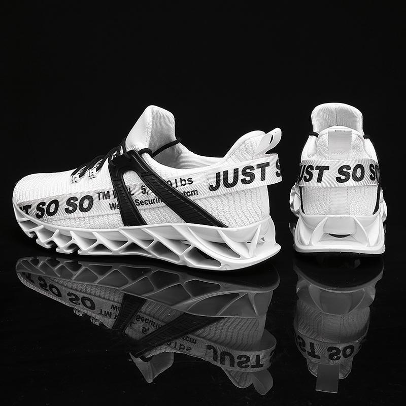 Bıçak Erkekler Nefes Mesh Çorap Spor ayakkabılar Antiskid Süspansiyon dış taban Atletik Spor Ayakkabı Antrenman Yarışı Zapatills İçin Ayakkabı Koşu