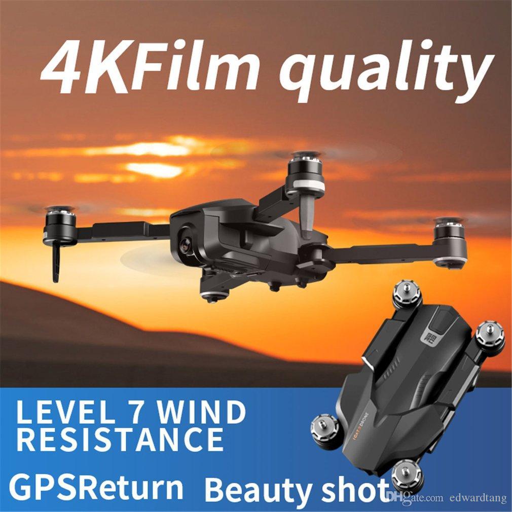 ICAT3 الطائرة بدون طيار 4K 50 مرة تكبير HD كاميرا، كهرباء تعديل 90 درجة، 5G WIFI FPV، GPS لتحديد المواقع البصرية تدفق الذكية متابعة، المسار الطيران، 2-2