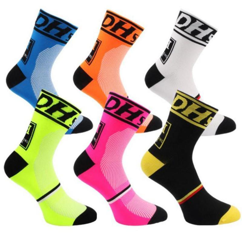 High quality Pro team men women cycling socks MTB bike socks Breathable Road Bicycle Outdoor Sports Racing 2020