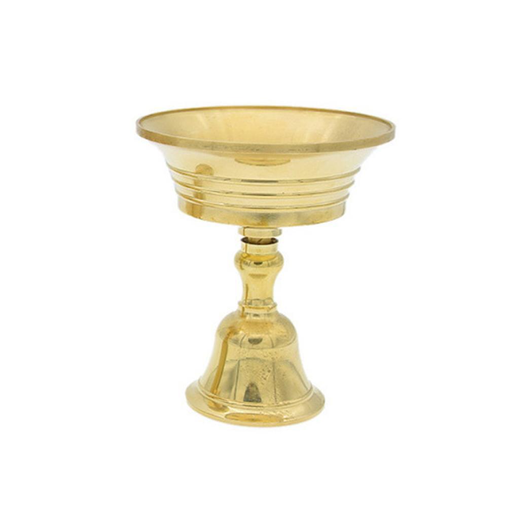 Multi-Tamaño aleación de cobre Candelabro Candelabro vela titular coleccionable Party Decor Craft hogar Retro duradero candelero decoración del hogar