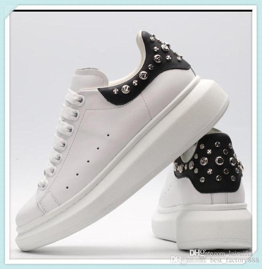 2019 mode populaire de haute qualité des hommes et des femmes chaussures de marque de luxe respirante Mesh Sneaker course Chaussures Casual 35-45 951