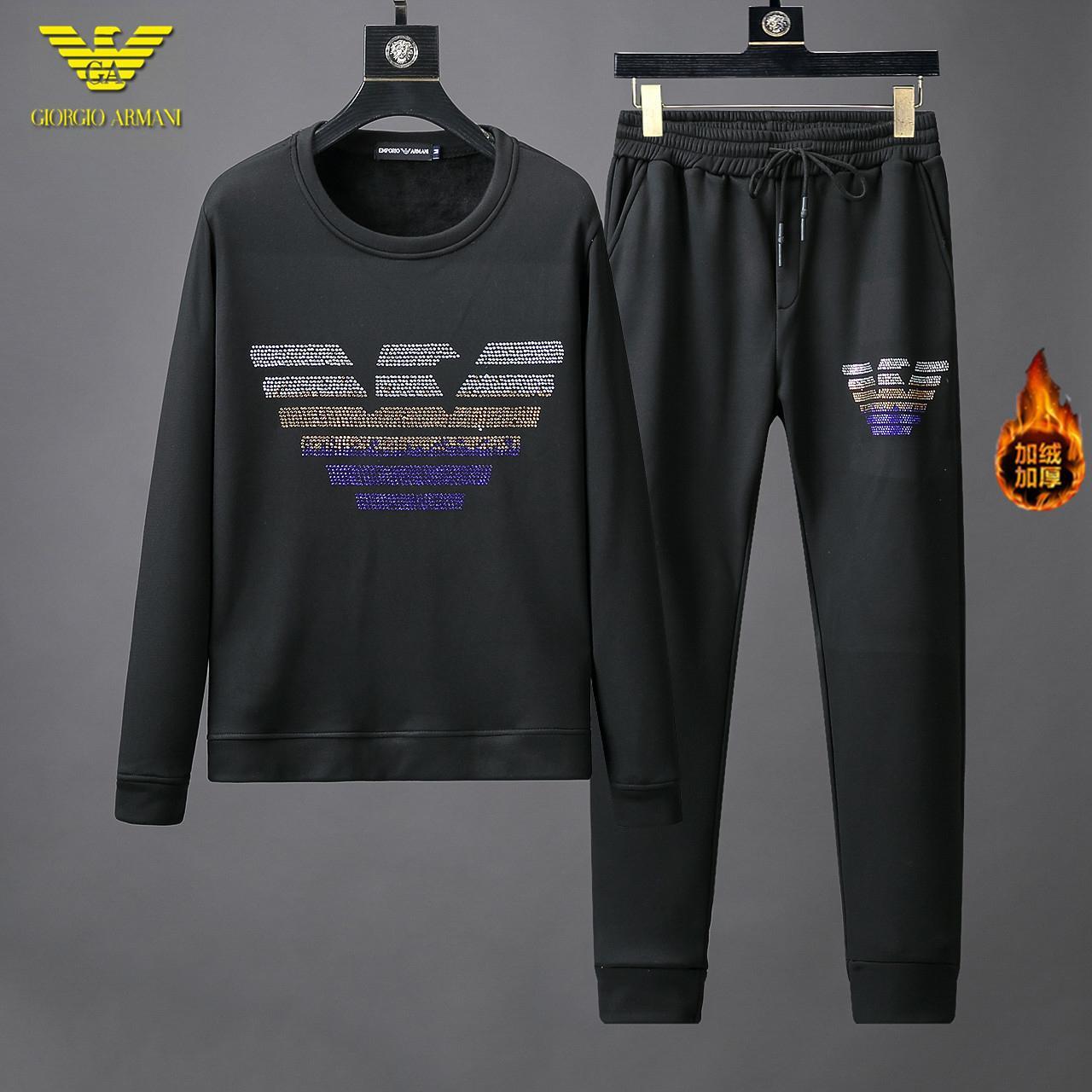 Preferito 20ss nuovo arrivo della molla della tuta originale design uomini e le donne della tuta con cappuccio e pantaloni esterna qualità perfetta Sportswear