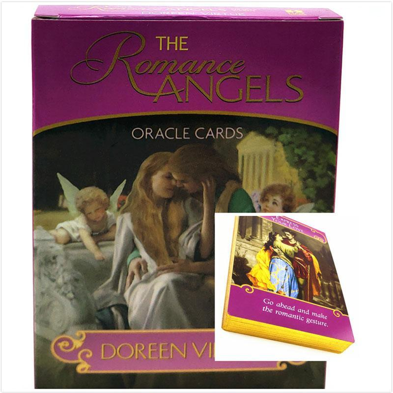 Nlight The Faeries Oracle Cardstarot Cards Romance Angel Oracle Cards by Fairy Paper Tarot Cards Party Games Tarot Cards Deck Rare