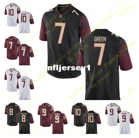 save off 7d948 7c625 Cheap Mens Ryan Green Kermit Whitfield Jersey Jacques Patrick Sean Maguire  Stitched Black Florida State Seminoles College Football Jerseys N UK 2019  ...