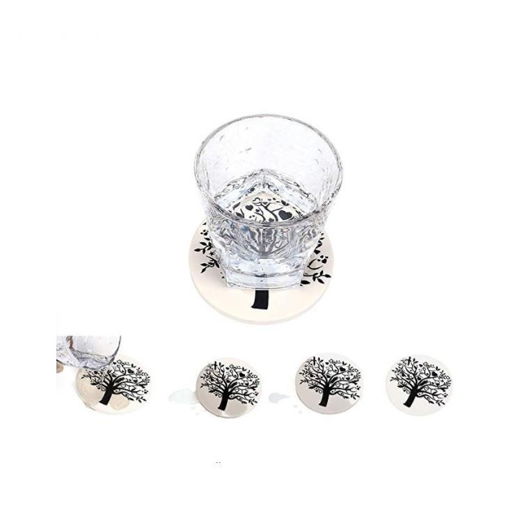Bon blanc sublimation de la qualité d'impression blanc des montagnes carreaux de céramique et de transfert de chaleur de sublimation de la qualité d'impression de carreaux de céramique