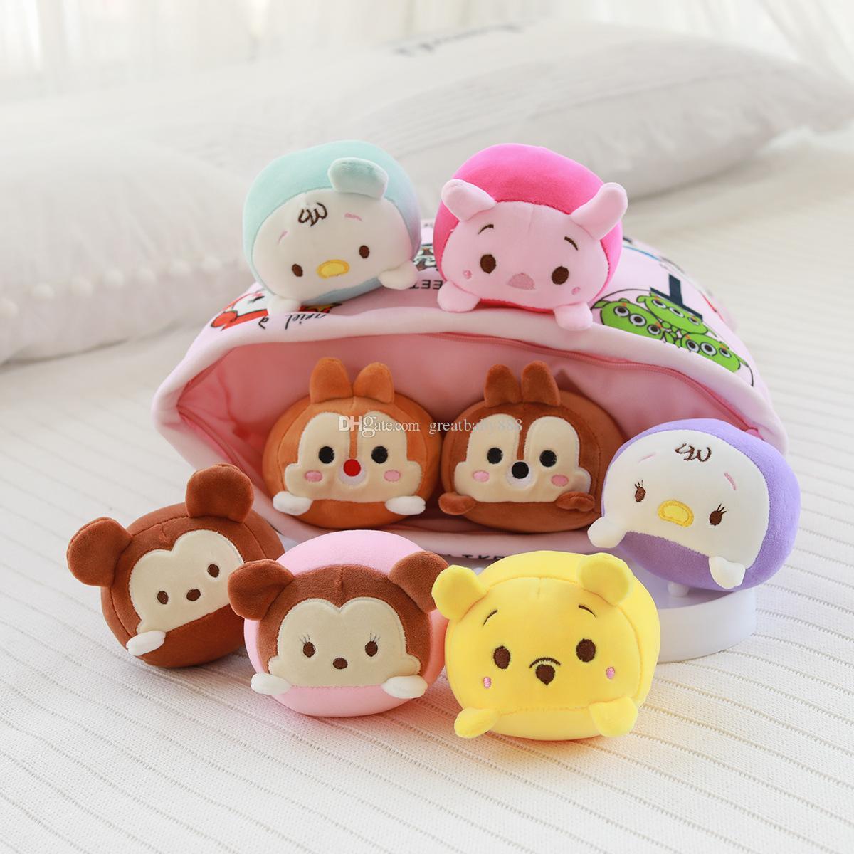 New ins38*48cm super cute a bag cartoon anime doll plush doll children pillow toy birthday gift P082