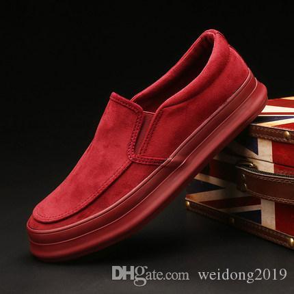 Nel 2020 nuova primavera scarpe di tela scarpe di moda maschile versione coreana di scarpe da tavolo degli uomini del pedale di tendenza di svago joker