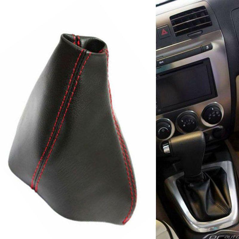 Décor Shifter Boot Couverture cuir Transmission automatique Auto Protector