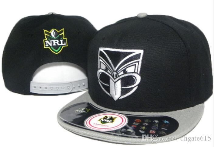 Qualidade superior 2019 NRL Auckland chapéu Warriors hat Snapback Hip-Hop Snapbacks Adulto Bonés de Beisebol Ajustável Bordado chapéus Frete Grátis 03