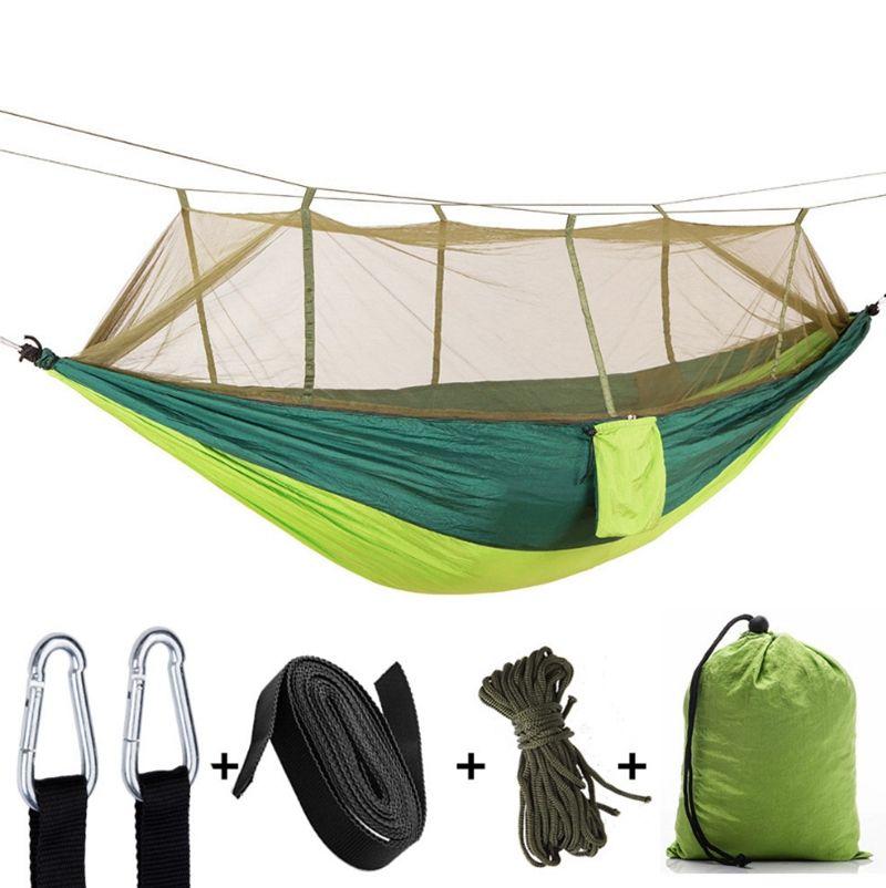 Cibinlik hamak 2 kişi Paraşüt hamak kamp asılı uyku yatak açık Hamac 12 tasarımlar Wholes ücretsiz kargo WZW-YW3760