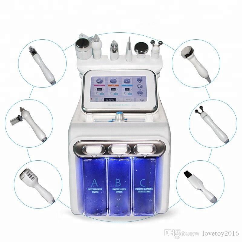 Oxígeno Jet terapia de agua dermoabrasión máquina Facial / oxígeno Water Jet Peeling / máquina de oxígeno con el CE