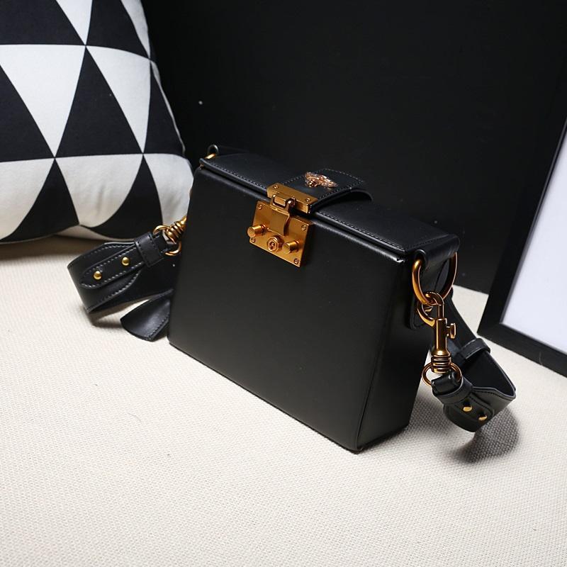 2020 mujeres de Crossbody del cuero de lujo de la vendimia genuina bolso del diseñador Sac principal hombro de la señora bolso de la caja J051