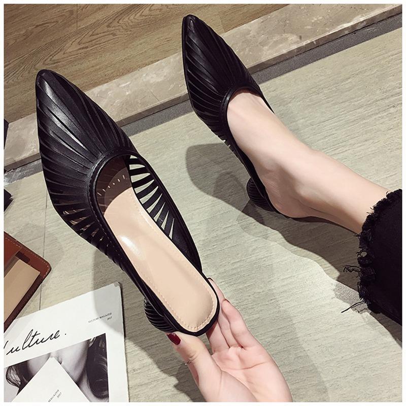 Hausschuhe 2021 Sommer Designer Frauen Maultiere Schuhe Mode Streifen Folien Damen Weibliche Luxus